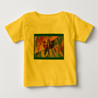 Yellow Dragonfly Baby Infant T-Shirt