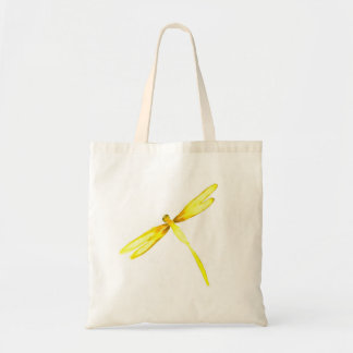 Yellow dragonfly bag with dragonfly design bag