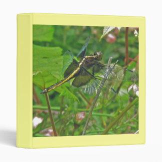 Yellow Dragonfly Binder