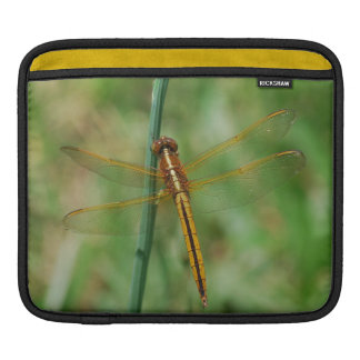 Yellow Dragonfly Sleeve For iPads