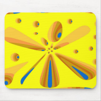 yellow dragons den mouse pad