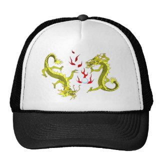 Yellow Dragons Hat