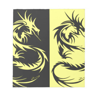 Yellow Dragons Scratch Pads