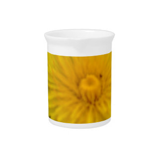 Yellow dreams beverage pitcher