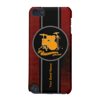 yellow drum customizable iPod touch (5th generation) cover