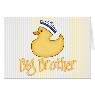 Yellow Duck Big Brother Card