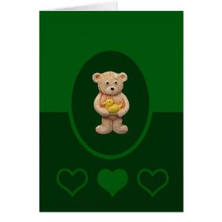 Yellow Duck Card