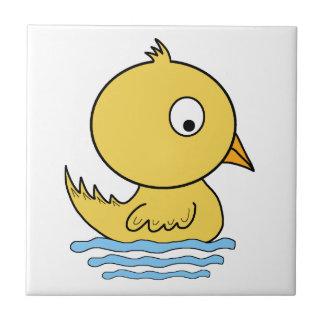Yellow Duck Ceramic Tile
