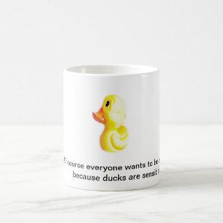 Yellow Duck coffee mug