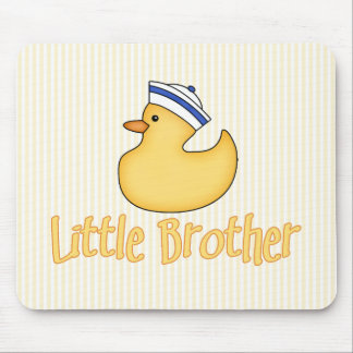 Yellow Duck Little Brother Mouse Pad