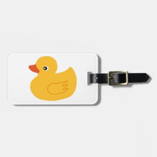 Yellow Duck Bag Tags
