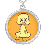 yellow duck necklace