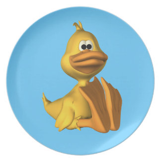 Yellow Duck Plate