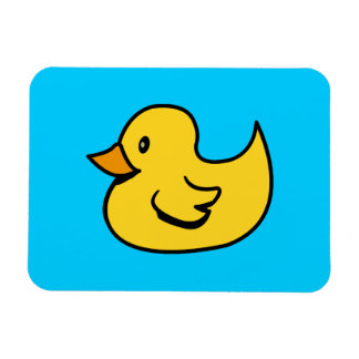 Yellow Duck Premium Magnet Rectangular Magnets