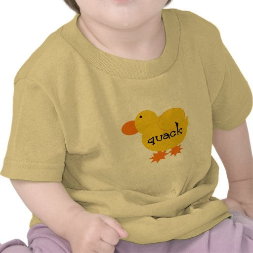 Yellow Duck Quack Tshirts and Gifts