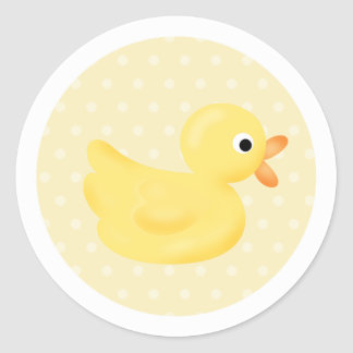 Yellow Duck  Stickers