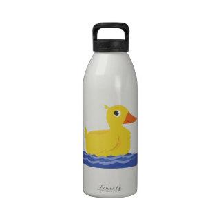 Yellow Duck Reusable Water Bottles
