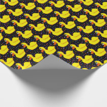 Yellow Duck Wrapping Paper