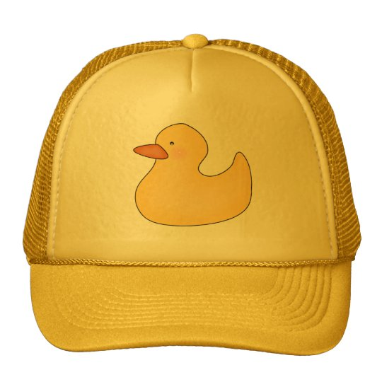 Yellow Duckie T-shirts and Gifts Trucker Hat