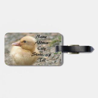 Yellow Duckling Luggage Tags