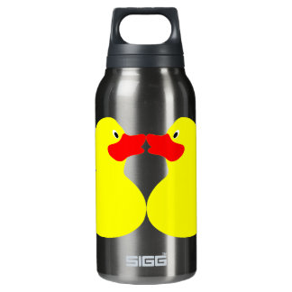 yellow ducks insulated water bottle