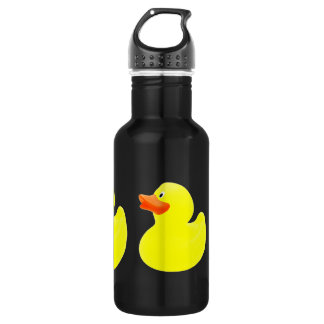 yellow ducks stainless steel water bottle