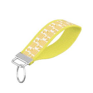 Yellow Ducks Wrist Keychain