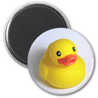 Yellow Ducky 2 Inch Round Magnet