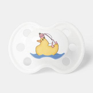 Yellow Ducky Girl Pacifier