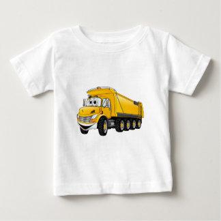 Yellow Dump Truck 10w Cartoon Baby T-Shirt