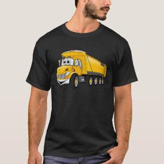 Yellow Dump Truck 10w Cartoon T-Shirt