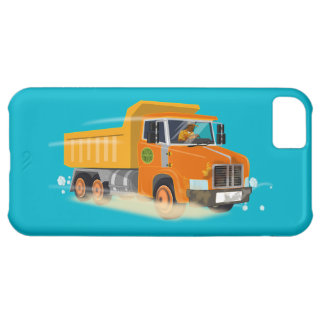 Yellow Dump Truck Cartoon for Kids iPhone 5C Case