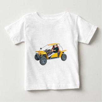 Yellow Dune Buggy Baby T-Shirt