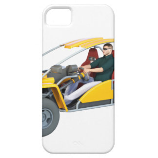 Yellow Dune Buggy iPhone SE/5/5s Case