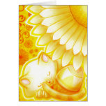 Yellow Easter Card