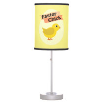 Yellow Easter Chick Table Lamp