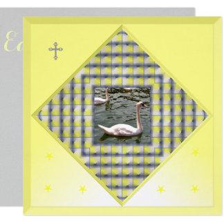Yellow Easter Invitation