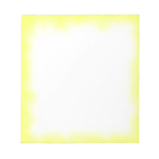 yellow edge note pad