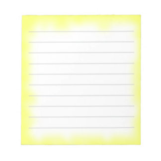 yellow edge notepad