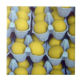Yellow Eggs Tile