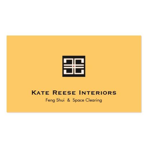 Elegant Interior Design Business Cards