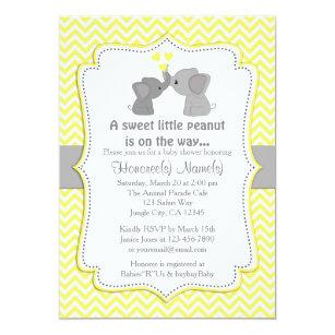 yellow invitations zazzle