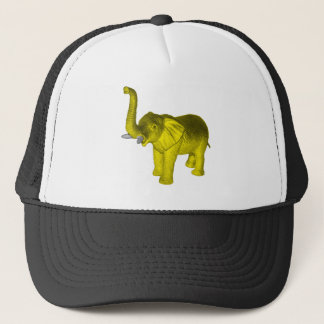 Yellow Elephant Trucker Hat