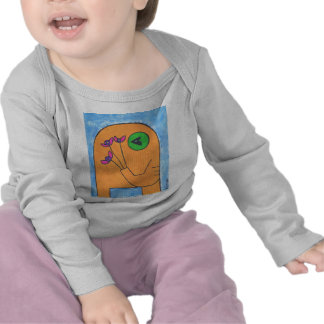 yellow elly Baby L S Tee-shirt