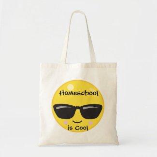 Yellow Emoji Homeschool is Cool