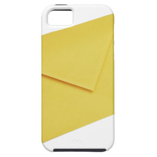 Yellow envelope isolated on white iPhone 5 covers