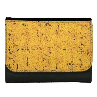 Yellow examined wallet