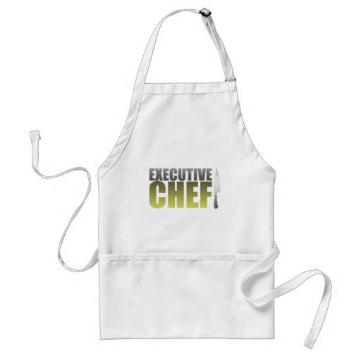 Yellow Executive Chef Adult Apron