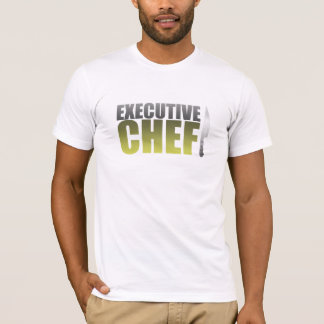 Yellow Executive Chef T-Shirt