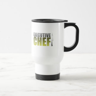 Yellow Executive Chef Travel Mug